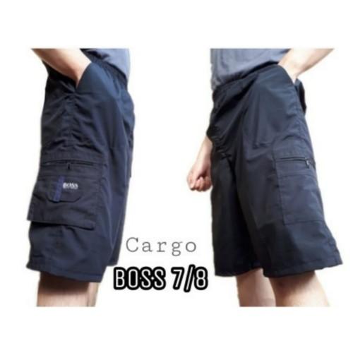 Foto Produk Celana Pendek Cargo 7/8 Katun Boss dari JuraganKolor