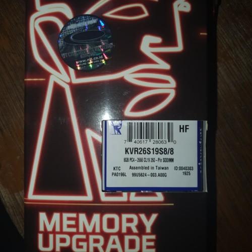 Foto Produk Kingston Memory Sodimm 8GB DDR4 2666 dari Yoestore