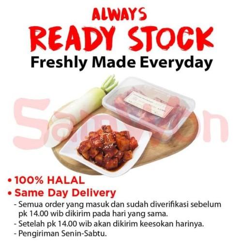 Foto Produk KIMCHI LOBAK FRESH 250GR SAMWON Makanan Korea dari idris shop01