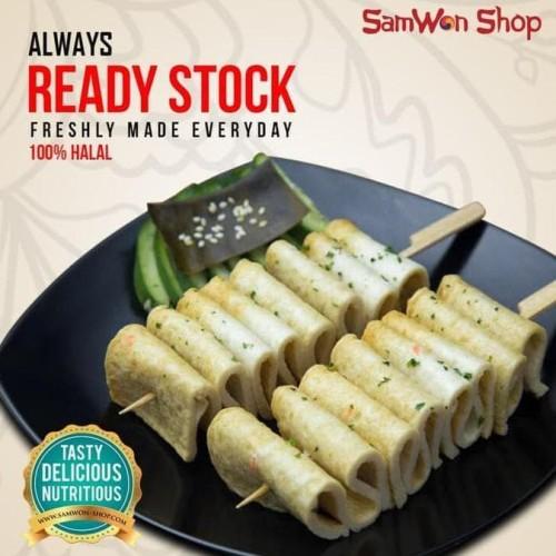 Foto Produk EOMUK ODENG 500 Gr Fresh - SamWon Makanan Korea ENAK LEZAT BERGIZI dari idris shop01