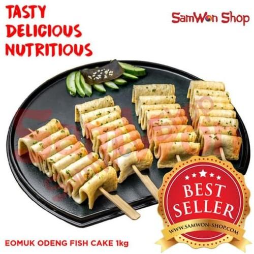 Foto Produk EOMUK ODENG 1 Kg Fresh - SamWon Makanan Korea ENAK LEZAT BERGIZI dari idris shop01