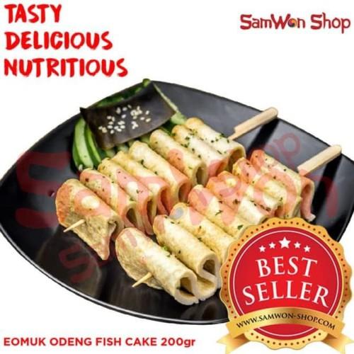 Foto Produk EOMUK ODENG 200 Gr Fresh - SamWon Makanan Korea ENAK LEZAT BERGIZI dari idris shop01