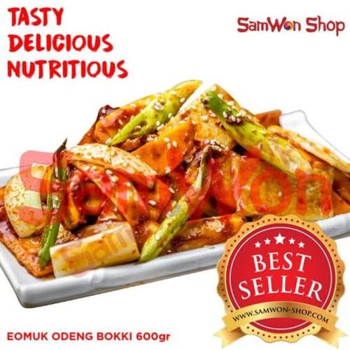 Foto Produk EOMUK ODENG BOKKI 600 Gr Fresh - SamWon Makanan Korea ENAK LEZAT dari idris shop01
