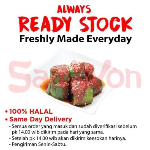 Foto Produk KIMCHI TIMUN FRESH MADE 250 Gram SAMWON Makanan Korea dari idris shop01