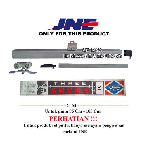Foto Produk Rel Pintu geser / sliding 777 ukuran A4 / J4 untuk pintu 95cm - 105cm dari KF-JAYA HARDWARE SANITER