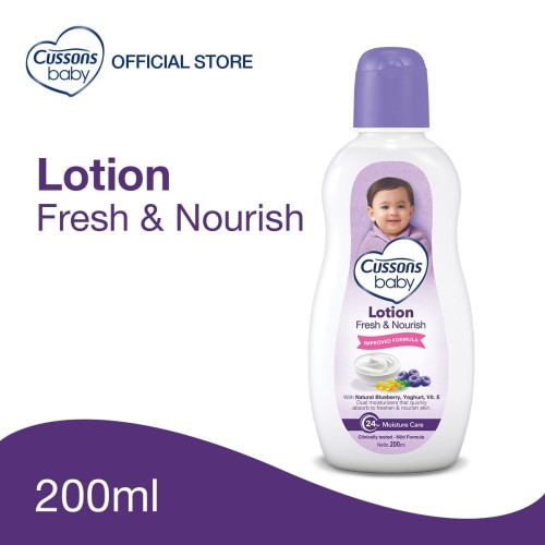 Foto Produk Cussons Baby Lotion Fresh & Nourish 200ml dari Cussons Official Store