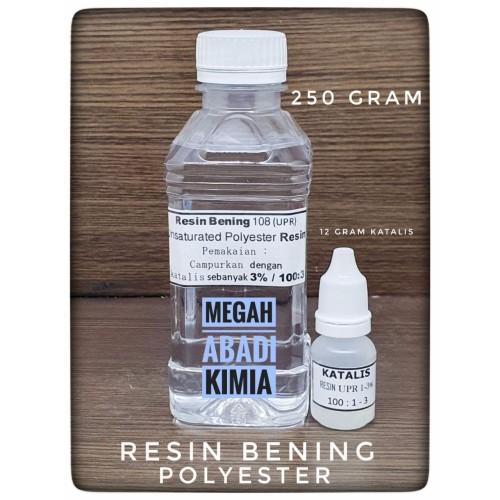Foto Produk RESIN BENING 250 Gram + KATALIS 12 GRAM dari Megah Abadi Chem