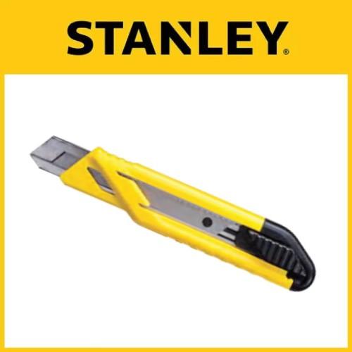 Foto Produk Stanley Cutter 18mm ABS Auto Lock Snap-Off Knife Plastic (STHT10265-8) dari Black+Decker