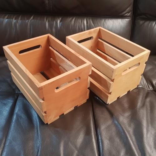 Foto Produk kotak kayu jati box wooden crate dari solidewood
