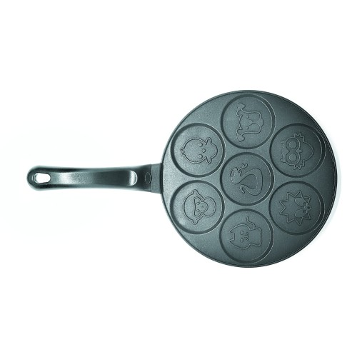 Foto Produk Cetakan Cookiess, Pancake Daroyaki 7 holes Motif Binatang dari Mon-Hardware