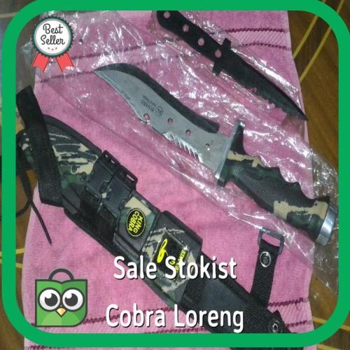Foto Produk Termurah pisau king cobra sangkur belati camo loreng Terlaris dari VGA JAYA