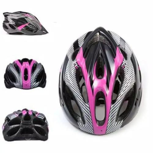 Foto Produk Helm Sepeda Mtb Murah - Merah List Terbagus dari CettaBaik mulia