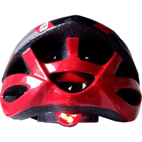 Foto Produk Helm Sepeda Avand Merah Hitam List Terbagus dari CettaBaik mulia
