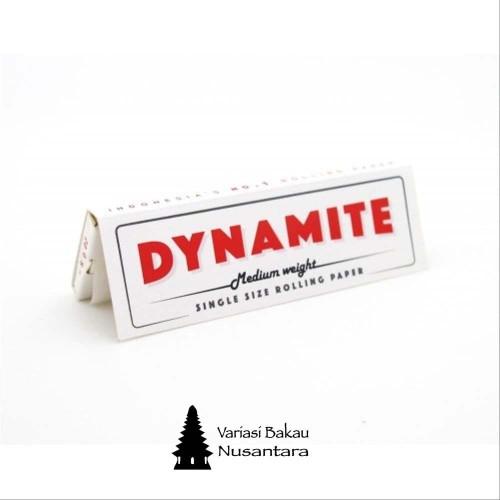 Foto Produk Rolling paper Dynamite single white Reguler dari Variasi Bakau Nusantara