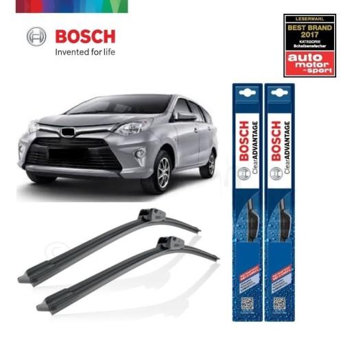 Foto Produk Wiper Mobil Frameless Toyota Calya Sepasang Bosch Clear Advantage dari BOSCH Automotive