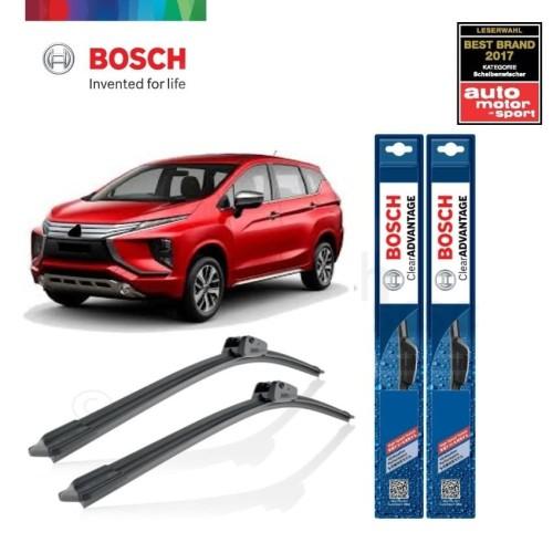 Foto Produk Wiper Mobil Frameless Mitsubishi Xpander Bosch Clear Advantage dari BOSCH Automotive