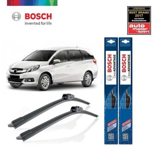Foto Produk Wiper Mobil Frameless Honda Mobilio Sepasang Bosch Clear Advantage dari BOSCH Automotive