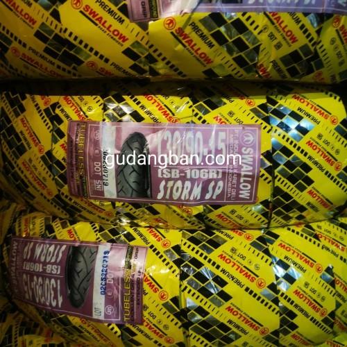 Foto Produk Ban Motor Swallow 130 / 90 Ring 15 S 106 Strom SP virago phantom moge dari gudangban_id