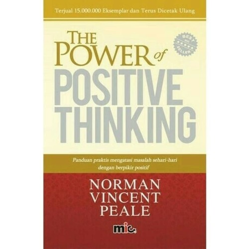 Foto Produk Buku The Power of Positive Thinking|Norman Vincent Peale (Best Seller) dari toko buku bisnis irfan