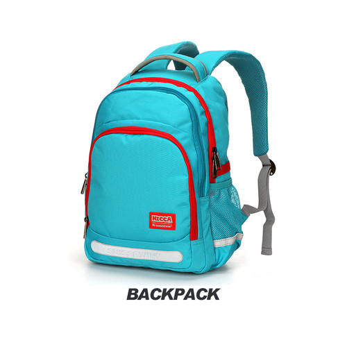 Foto Produk Tas Ransel Fashion Pria Wanita Bag Backpack Import Sekolah SN17115 - Biru Muda dari travelplus bag