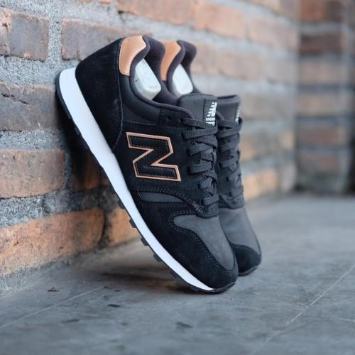 New Balance 373 Black Brown Suede