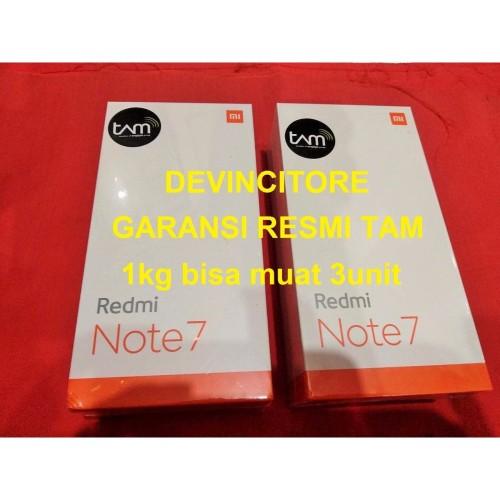 Foto Produk GARANSI RESMI TAM Xiaomi Redmi Note 7 BLUE 4/64 RAM 4GB 64GB 4 64 GB dari Devincitore Official