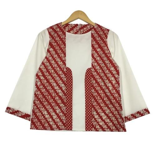 Foto Produk Atasan batik wanita liris blouse dari rheazalea
