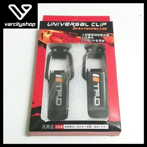 Foto Produk Universal Klip Large Clip Bumper Quick Release Klip Bemper Mobil Besar - TRD dari varcityshop