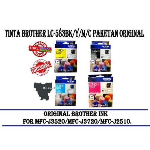Foto Produk Tinta Brother LC-583 LC583 Original Ink Resmi dari CCK2303