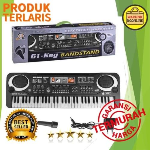 Foto Produk piano anak - Digital Electronic Keyboard 61 Keys - MQ-6106 dari WarunkNgonline