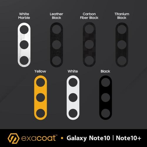 Foto Produk Exacoat Samsung Galaxy Note 10 / Note10+ Plus Camera Protector (2pcs) - Matte Black dari unomax