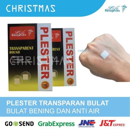 Foto Produk Plester Luka Transparan Bulat Anti Air Life Resources dari Christmas Underpad