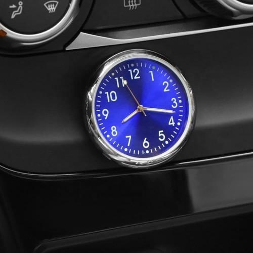 Foto Produk Car Dashboard Mini Analog Clock | Premium Jam Interior Dashboard Mobil - White dari Gentleman Car