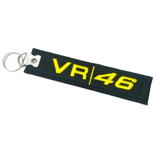 Foto Produk Gantungan Kunci Motor/Mobil Bordir VR|46 Premium dari AB Embroidery Store