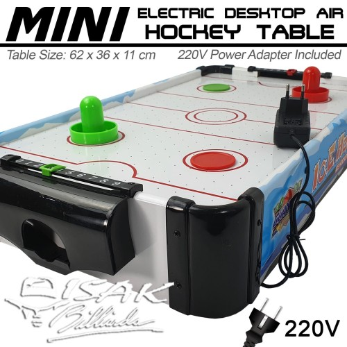 Foto Produk Mini Electric Air Hockey Table 2-ft Mainan Hadiah Anak Meja Kecil Hoki dari ISAK Billiard Sport Co.