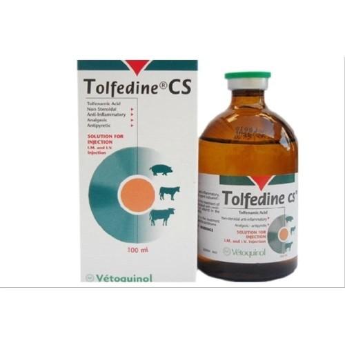 Foto Produk TOLFEDINE CS-50 ml (Anti radang Pereda Nyeri Non Steroid Hewan) dari agrasaravet