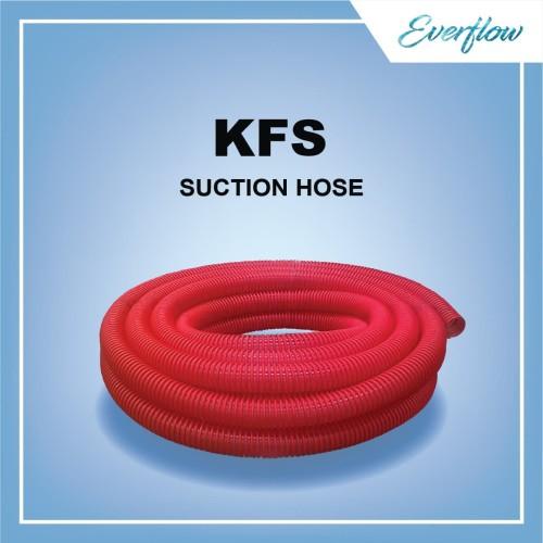 Foto Produk Selang Hisap Spiral Kemanflex Suction 1 Inch Red dari Toko Everflow