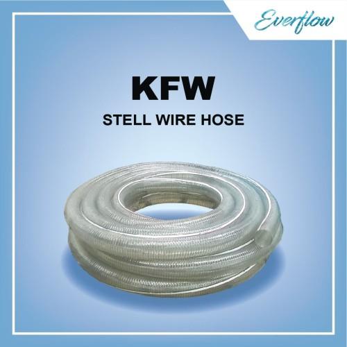 Foto Produk Selang Kawat Kemanflex Wire 1/2 inch dari Toko Everflow