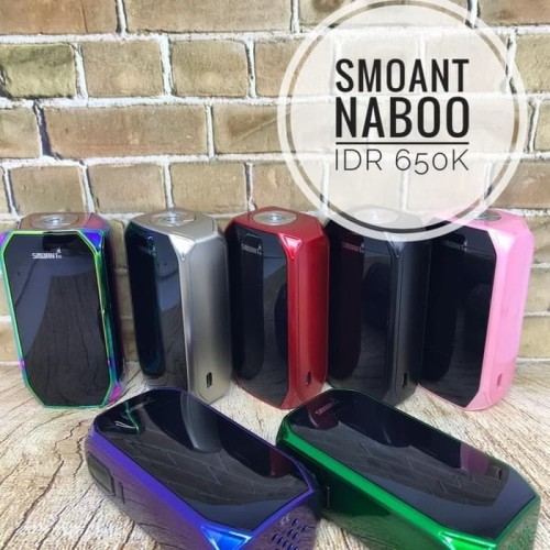 Foto Produk SMOANT NABOO 225W TC MOD AUTHENTIC VAPE|VAPOR [BVO] dari Bandar Vaping Indonesia
