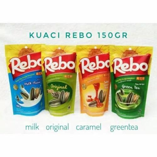 Foto Produk Kuaci REBO 150 gr dari LUSY MARKET