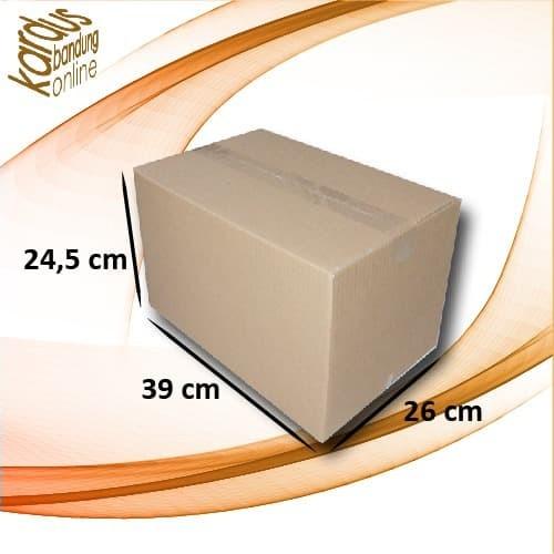 Foto Produk Kardus | Box | Karton Packing Polos (39x26x24.5) Tebal 3 mm dari kardusbandung