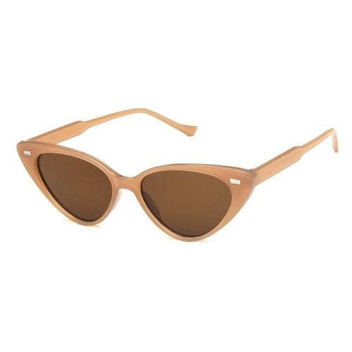 Foto Produk kacamata fashion wanita brown cat eye sunglasses jgl102 dari Oila