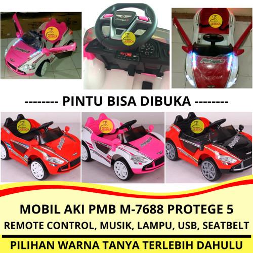 Foto Produk Mainan Anak Mobil Aki Remote Control PMB M 7688 Protege 5 Murah dari Sepeda Jessica