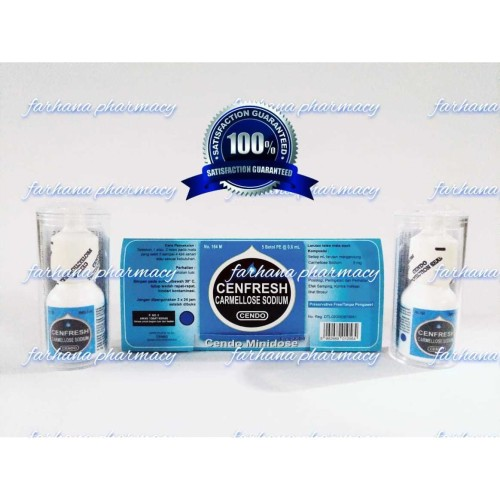 Foto Produk Promi Asli & Murah Cendo Cenfresh / mata kering & iritasi / Minidose dari Farhana Pharmacy