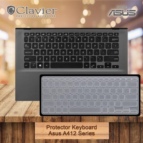 Foto Produk Keyboard Protector Cover Asus A412 A412D A412F A412U A412DA-EK301T Sil dari Clavier
