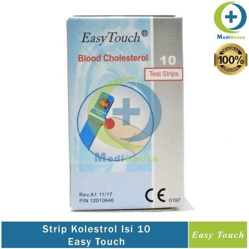 Foto Produk Strip Easy Touch Kolestrol EasyTouch Cholestrol dari medihouse