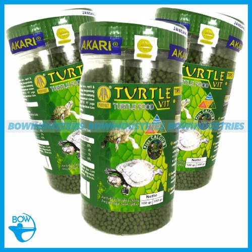 Foto Produk Makanan Pakan Kura Kura Akari Turtle Vit Food 350 Gram dari bowindustries