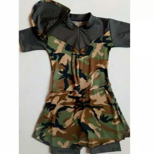 Foto Produk baju renang wanita remaja dan dewasa baju renang pendek dari sakinahbusana