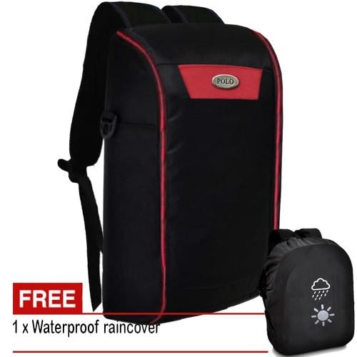 Foto Produk Tas Pria Tas POLO Tabung TB20 Tas Ransel POLO Tas Punggung Backpack dari Juragan Tas Import