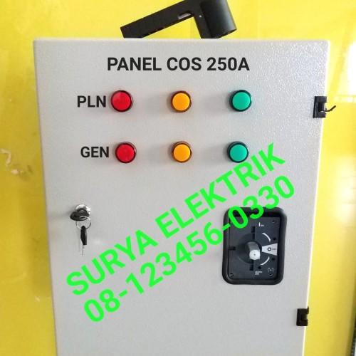 Foto Produk BOX PANEL COS OHM SAKLAR PLN GENSET SOCOMEC 300A 300 A Amper Socomec dari SURYA-ELEKTRIK